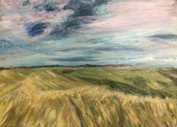 painting little bighorn