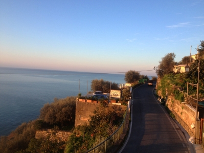 view of Italian road