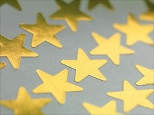 Gold stars. My friends and enemies.
