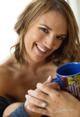 me with mug